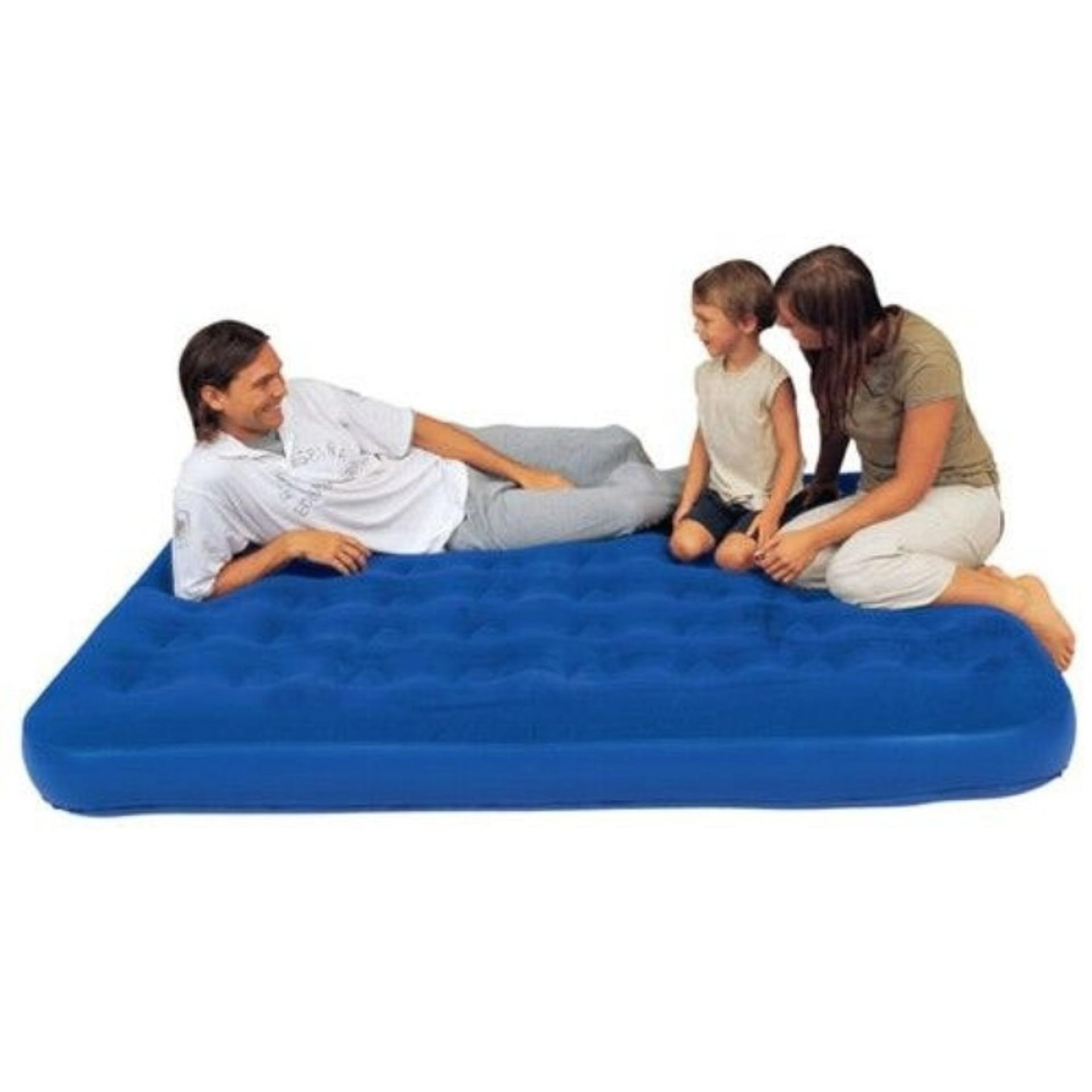 Kasur Angin Double Size Flocked Air Bed Bestway 67002