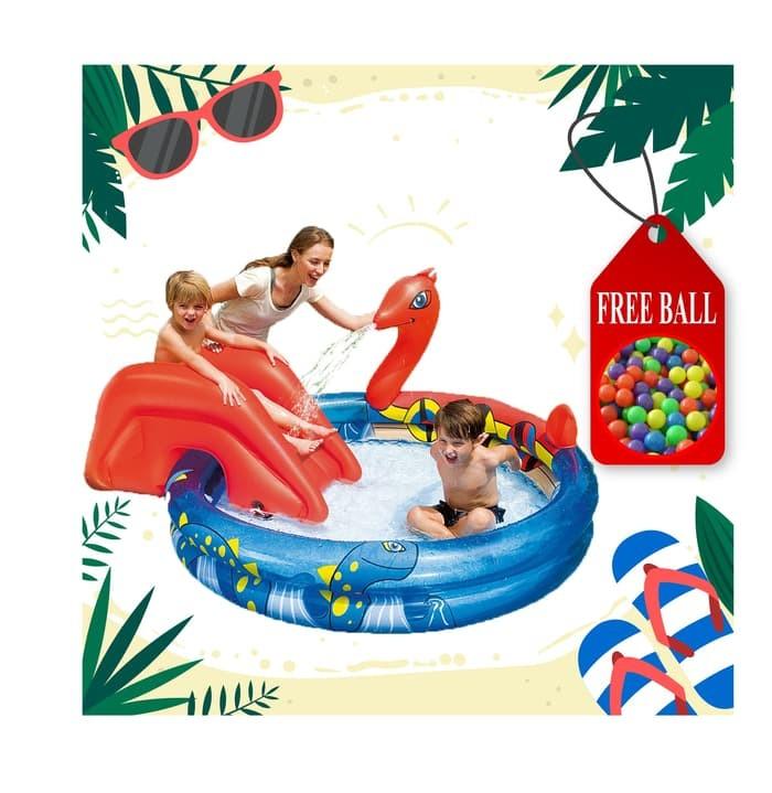 Kolam Renang Anak Bonus Bola / Viking Pool Bestway Play Pool