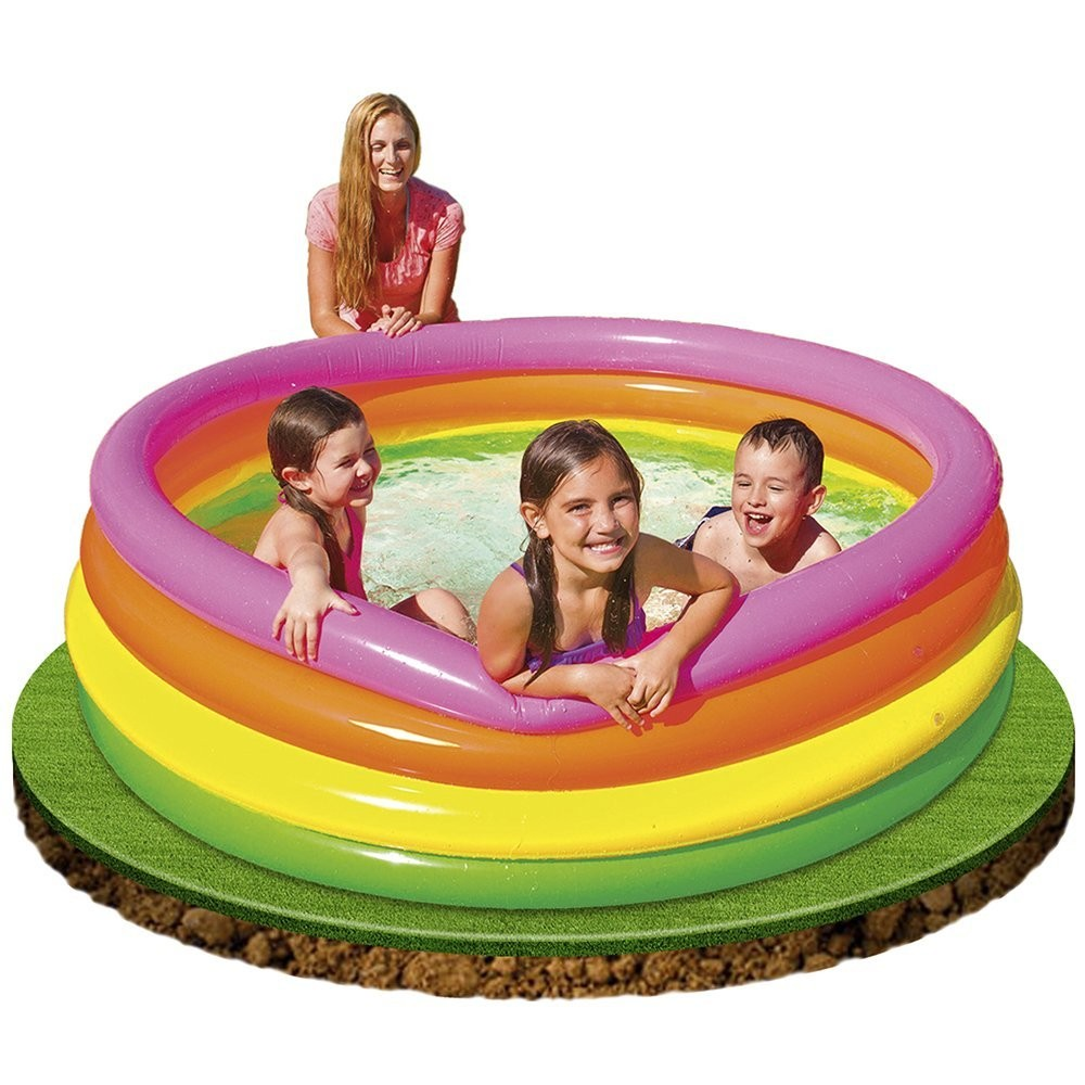 Kolam Renang  Anak Jumbo 168 cm Sunset Glow Pool Intex 56441