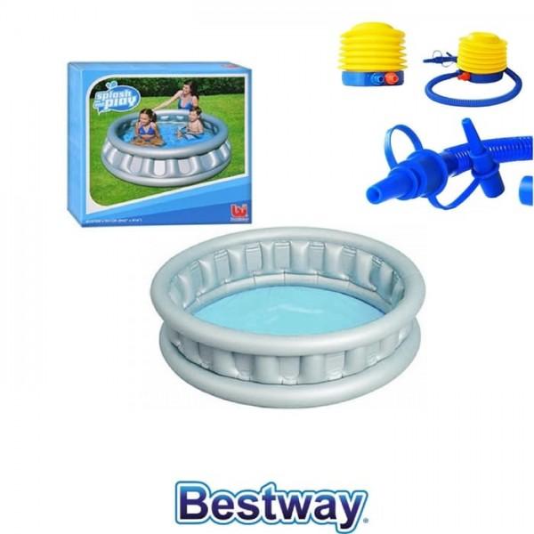Kolam Renang Anak Gratis Pompa / Kolam Renang Ship Pace Silver Bestway 51080