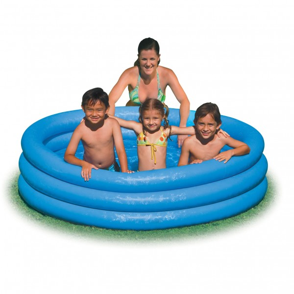 Kolam Renang Anak Jumo Crystal Blue Pool Intex 168 x 38