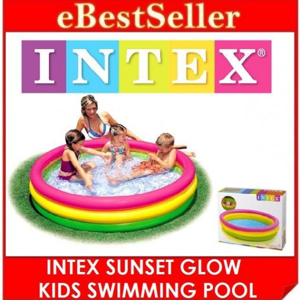 Kolam Renang Angin Pelangi Sunset Glow Pool Intex 57422