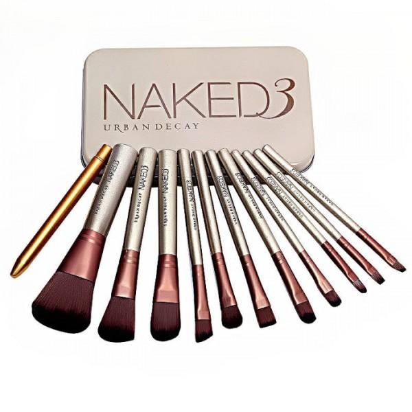 Make Up Brush Naked 3 / Kuas Make Up Naked Urban 3 isi 12