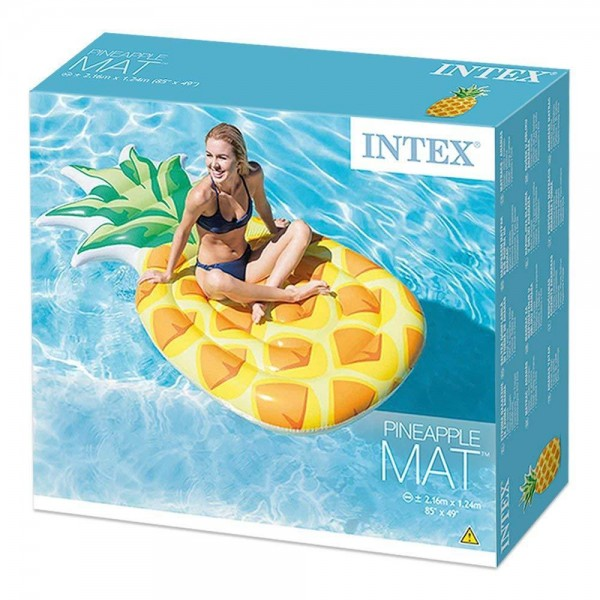 Matras Pelampung renang Nanas Intex Inflatable Matrres Pineapple