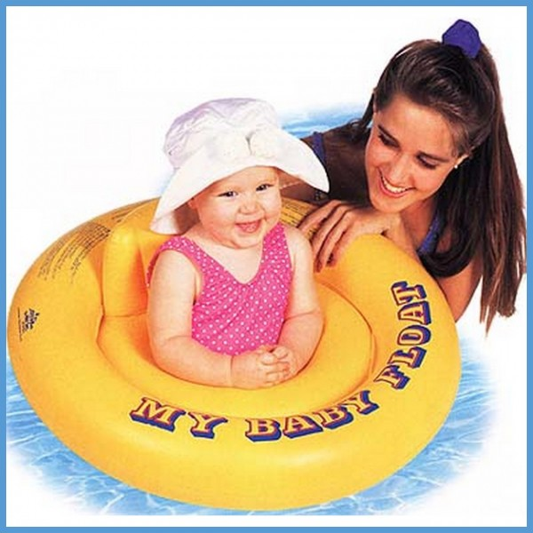 Pelampung Berenang Bayi My Baby Float Swim Trainer Intex