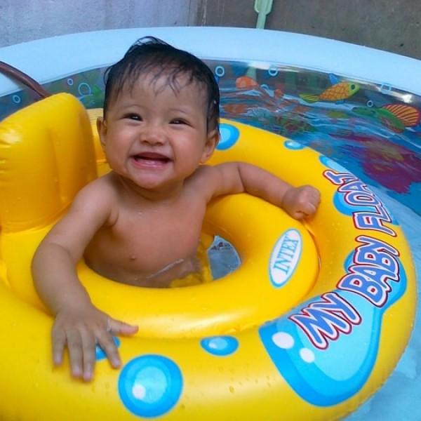 Pelampung Berenang Bayi My Baby Float Swim Trainer Intex