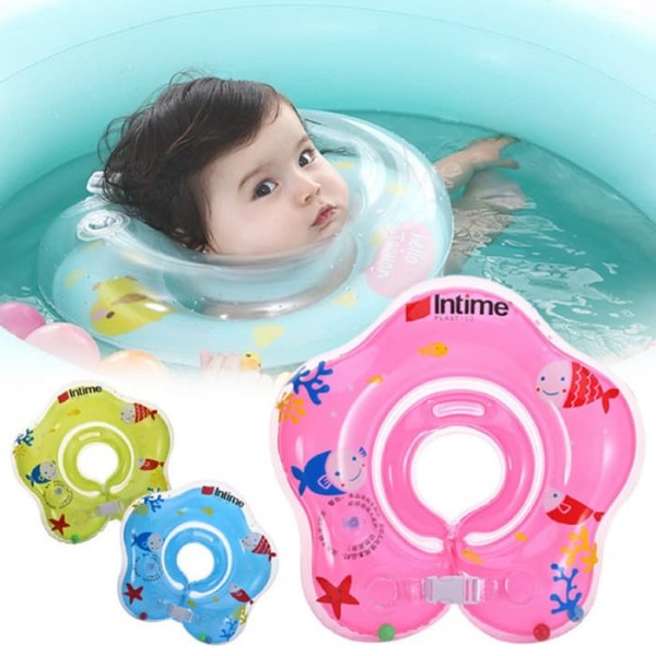Pelampung Leher Bayi Kerincing Baby Neck Ring Float Rattle