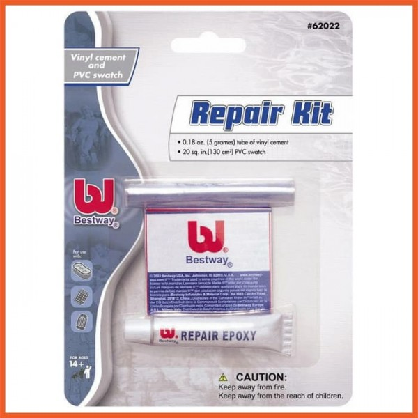 RepairKit / Lem Perekat untuk menambal Kolam atau Kasur Yang Bocor