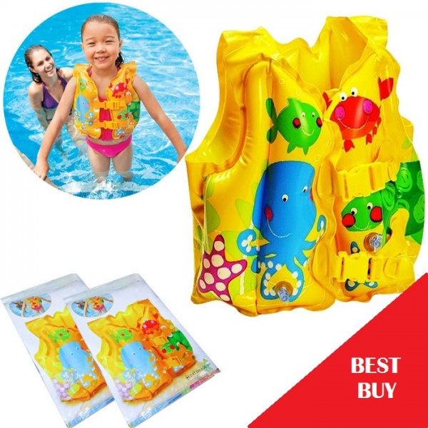 Rompi Pelampung Berenang Swim Vest Intex 59661