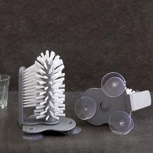 Sikat Pembersih Sikat Mencuci Gelas Mug 2 sisi / Wash Glass Brush