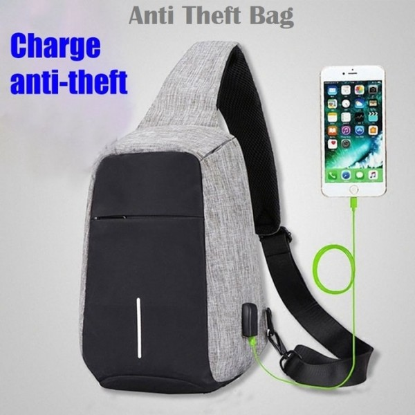 Tas Selempang Anti Maling Waterproof XDesign Sling Bag Anti Thef