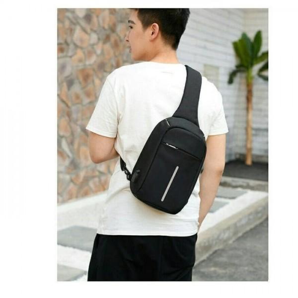 Tas Selempang Anti Maling Waterproof XDesign Sling Bag Anti Thef