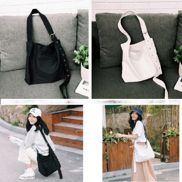 Tas Selempang Canvas Wanita / Shoulder Bag Canvas Mazio T203