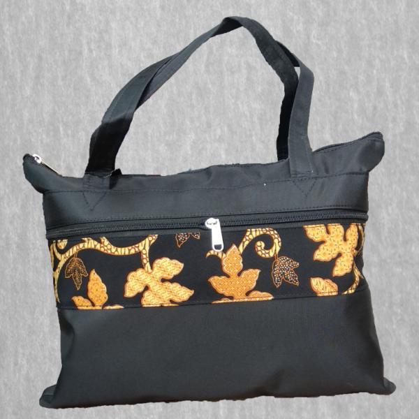 Tas Seminar Batik / Tas Document / Tote Bag Mikro Kombinasi Batik