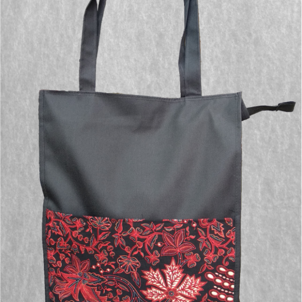 Tas Seminar / Tote Bag / Document Bag Batik Bahan Micro