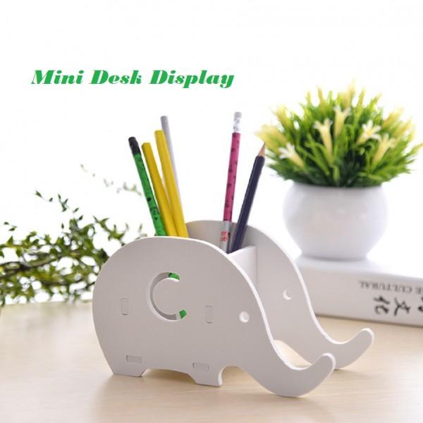 Tempat Pensil Pulpen dan HP bermotif Gajah / Rak multifungsi