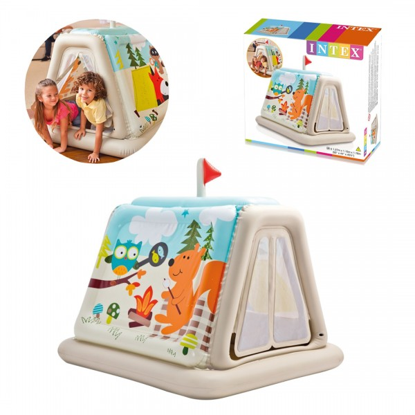 Tenda Main Anak Animal Trails Indoor Play Tent Intex