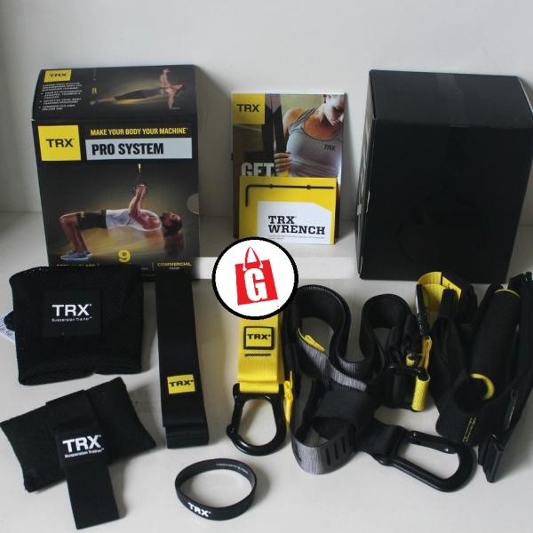 TRX Pro System P4 Suspension Training Kit / Alat Fitnes Pribadi TRX